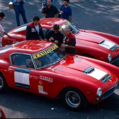 Due Ferrari 250 GTO della Scuderia Campidoglio nel 1988