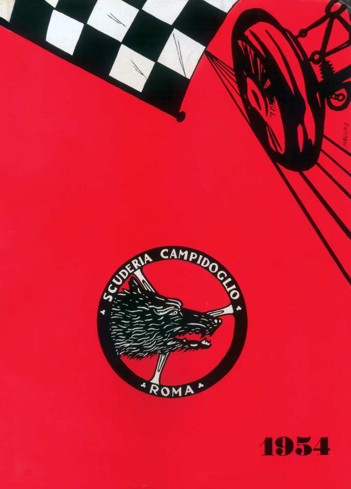 Copertina-Rivista-Scuderia-Campidoglio-1954-N1-1