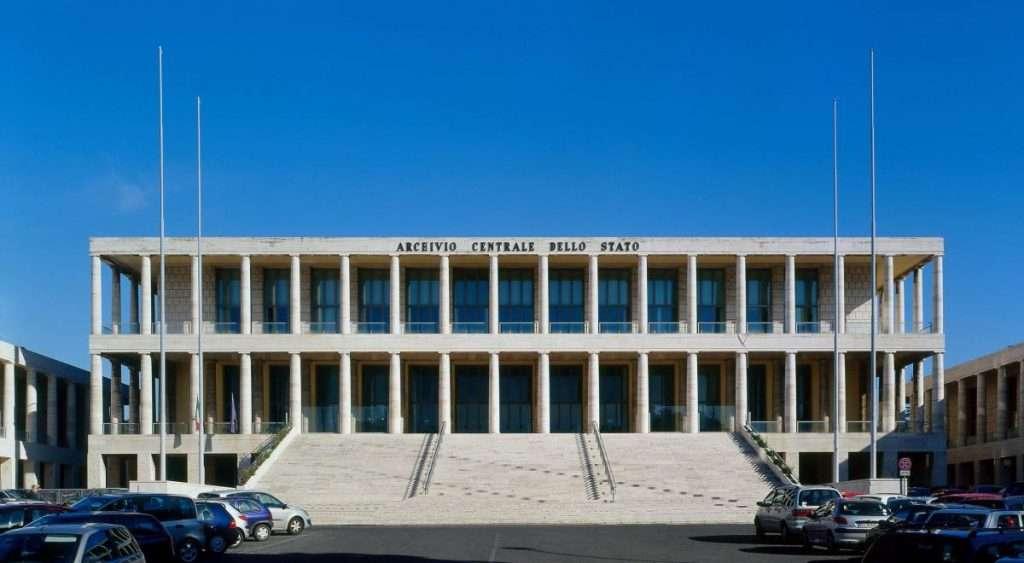 Archivio di Stato Eur Roma