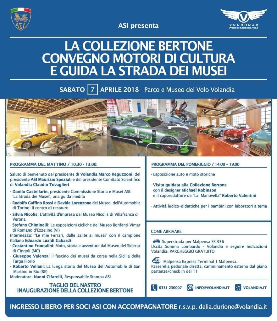 Inaugurazione Collezione Bertone