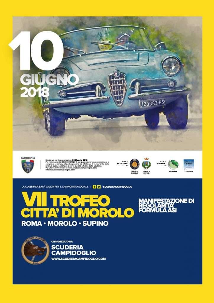 Locandina /° Trofeo Città di Morolo - Trofeo Città Morolo Supino