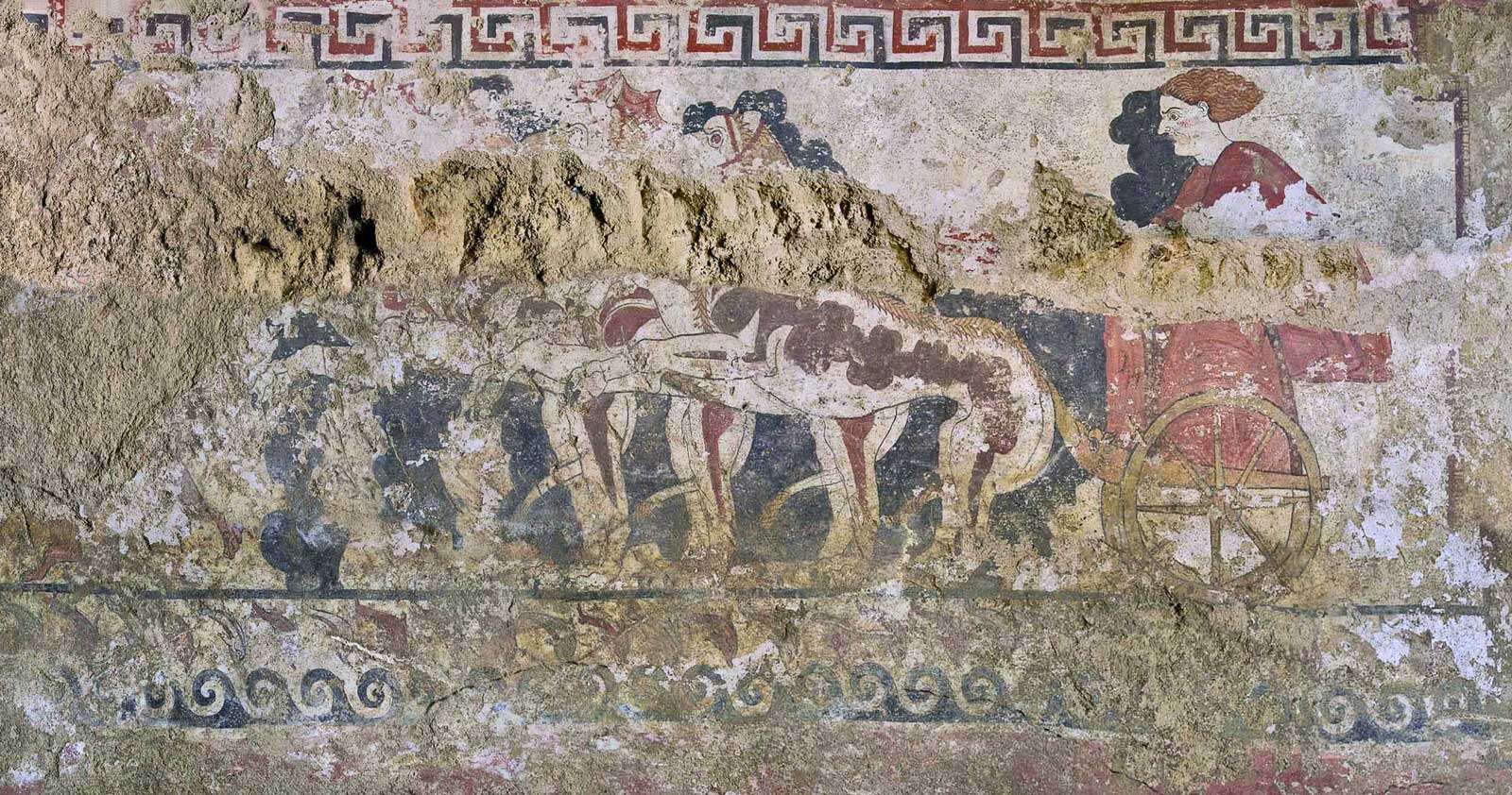Tomba Quadriga Infernale Sarteano