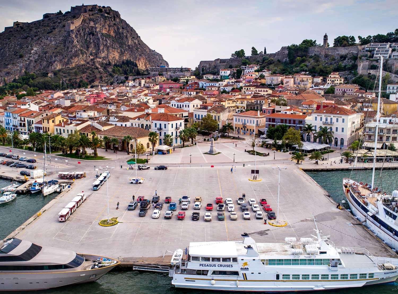 Tour del Peloponneso