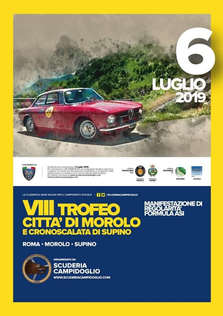 Locandina Ufficiale Trofeo di Morolo
