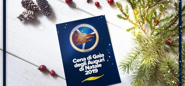 Cena di Gala per gli Auguri di Natale 2019