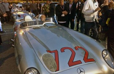 Stirling Moss Mercedes SLR 722 Mille Miglia