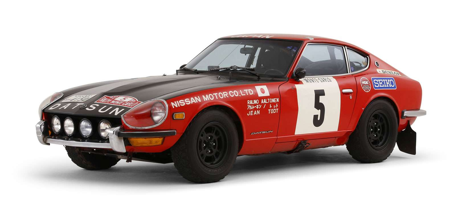 Datsun 240Z 1972 - The 41st RallyeMonte-Carlo in 1972 Rally Car Competition