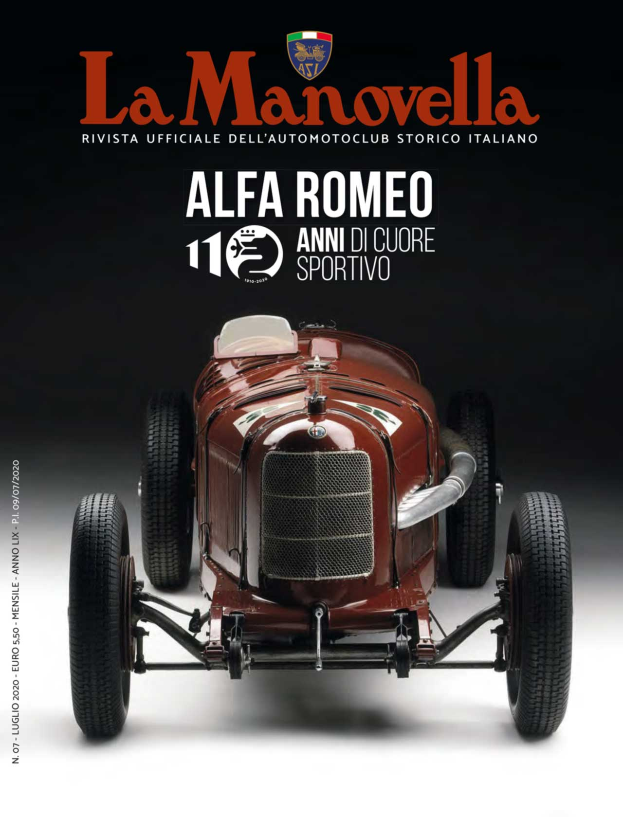 La Manovella - WEB - Luglio 2020 - Copertina